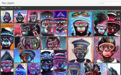 Screenshot of Home Page ronzakrin.com - Ron Zakrin - captured Oct. 9, 2015