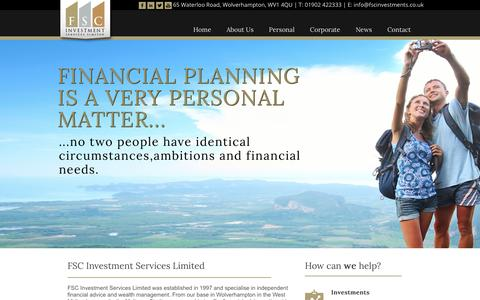FSC Investments | Financial Advisers