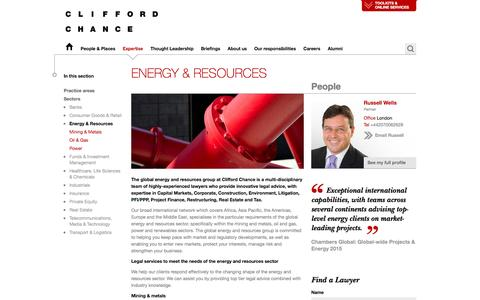 Clifford Chance | Energy & Resources