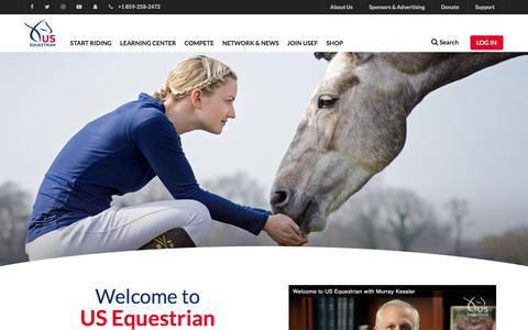 Welcome  | US Equestrian