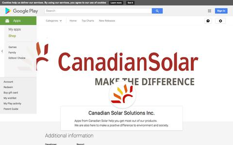 Canadian Solar Solutions Inc. - Android Apps on Google Play