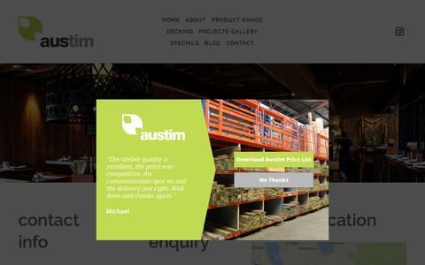 Contact Austim