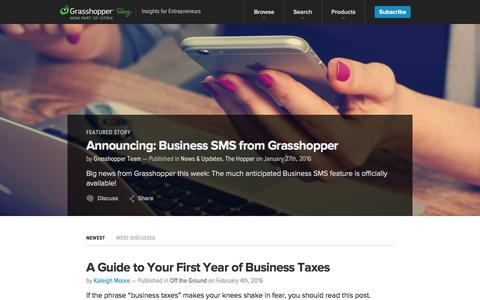 The Grasshopper Blog - Insights for Entrepreneurs