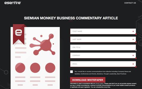 SIEMian Monkey Business Commentary Article