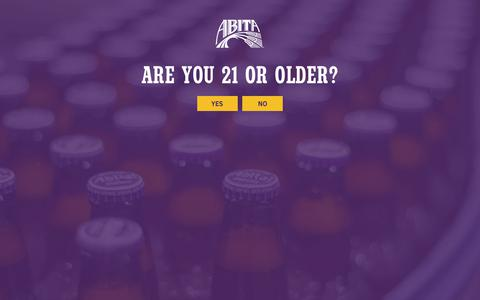 Screenshot of Terms Page abita.com - Terms of Use - Abita Beer - captured Oct. 7, 2017
