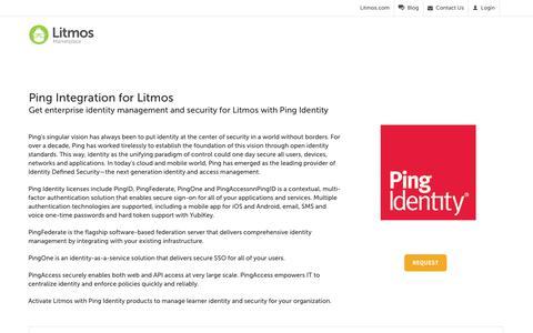 Ping Identity - Litmos