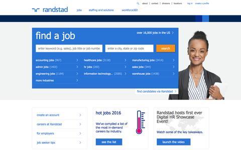 Jobs | Staffing | Workforce Solutions | Randstad USA