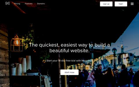 Moonfruit: Responsive Website Builder | Let's Make a Website