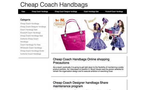 Screenshot of Home Page atthehillside.com - 60% OFF Buy Cheap Coach Handbags,2014 New Coach Handbags Sale - captured Oct. 8, 2014