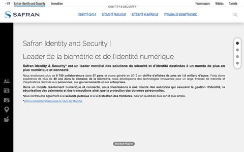 Screenshot of Team Page morpho.com - Safran Identity and Security | Safran Identity & Security - captured Nov. 23, 2016