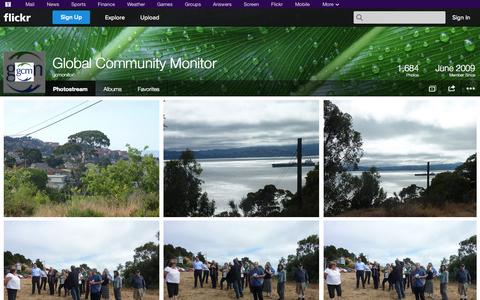 Screenshot of Flickr Page flickr.com - Flickr: gcmonitor's Photostream - captured Oct. 22, 2014