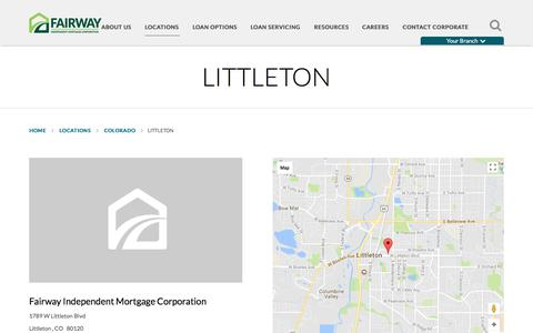 Littleton | Fairway Independent Mortgage Corporation