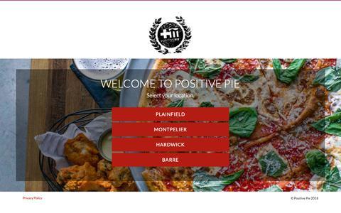 Screenshot of Home Page Privacy Page positivepie.com - POSITIVE PIE   OFFICIAL WEBSITE - captured Nov. 5, 2018