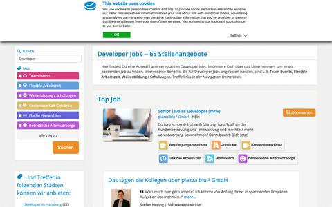 Screenshot of Developers Page feelgood-at-work.de - Developer Jobs | feelgood@work - captured Nov. 16, 2018