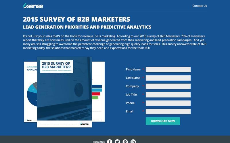 6Sense: Predictive Intelligence Engine