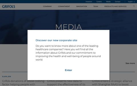 Medium traffic Biotech Press Pages   Website Inspiration and