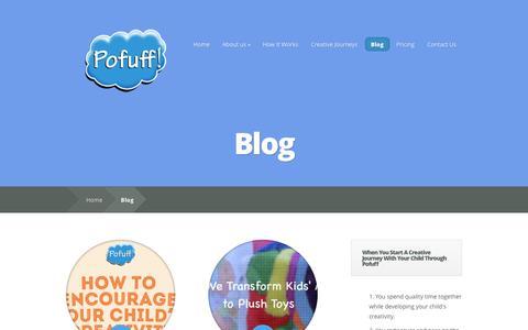 Screenshot of Blog pofuff.com - Blog   Pofuff! - captured Sept. 30, 2014