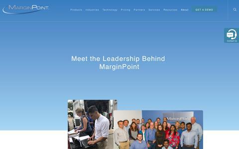 Screenshot of Team Page marginpoint.com - Team page - MarginPoint - captured Dec. 7, 2018