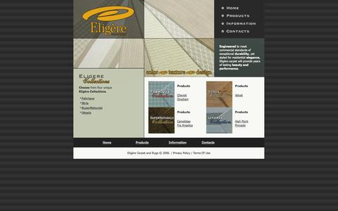 Screenshot of Products Page eligere.com - Eligere Utopia Pinnacle - captured Oct. 2, 2014