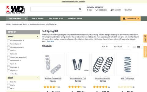 Coil Spring Set | 4wd.com
