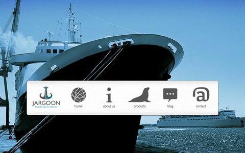 Screenshot of Home Page jargoon.co.uk - Specialist Marine Software - Jargoon - captured Dec. 22, 2015