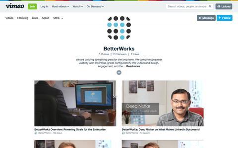 BetterWorks on Vimeo