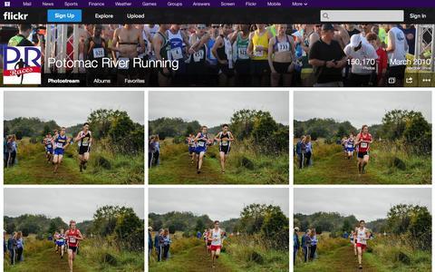 Screenshot of Flickr Page flickr.com - Flickr: Potomac River Running's Photostream - captured Oct. 23, 2014