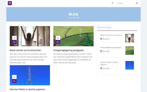 Screenshot of Blog watz.be - Nieuws en tips van watz - captured Aug. 12, 2016