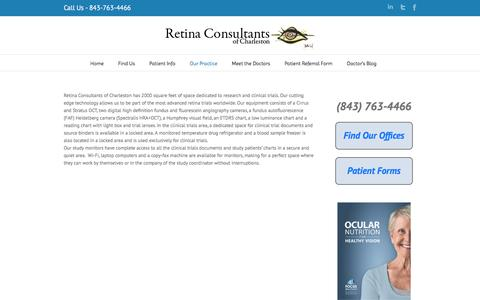 Clinical Trials Facility | Retina Consultants of Charleston