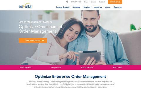 Screenshot of Team Page envistacorp.com - Order Management System | OMS Software for Omnichannel Brands - captured Feb. 20, 2020