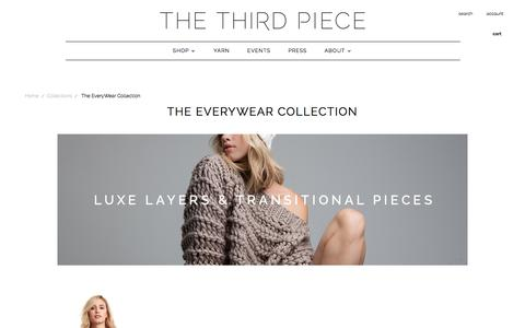 The EveryWear Collection | The 3rd Piece