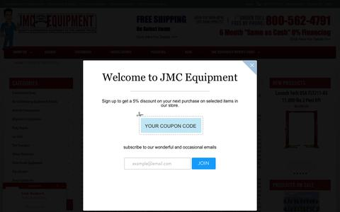 Screenshot of Terms Page jmcautomotiveequipment.com - Terms & Conditions - captured Aug. 30, 2016