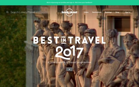 Best in Travel 2017 - Lonely Planet