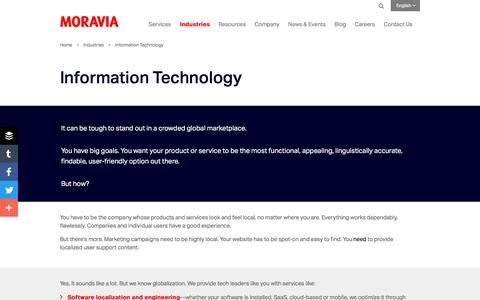 Information Technology - Moravia