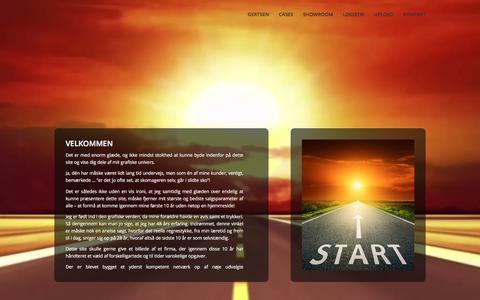 Screenshot of Home Page kerrn.com - kerrn.com | Endnu en WordPress-blog - captured March 5, 2016