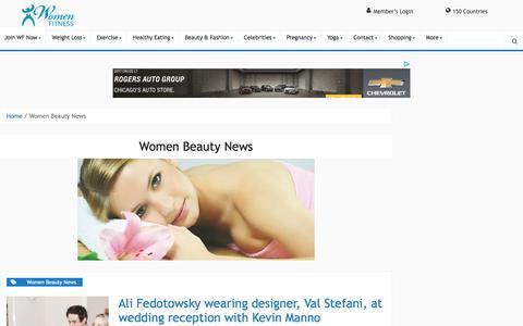 Women Beauty News Archives - Women Fitness