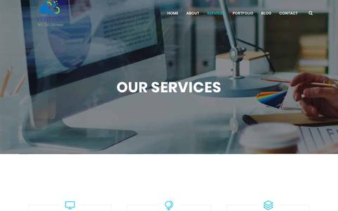 Screenshot of Services Page vebtech.com - Services – Versatile eBusiness Technologies - captured Sept. 20, 2018