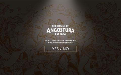 Screenshot of Privacy Page angostura.com - Privacy Policy - Angostura - captured Oct. 3, 2018