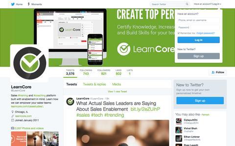 (1) LearnCore (@LearnCore) | Twitter