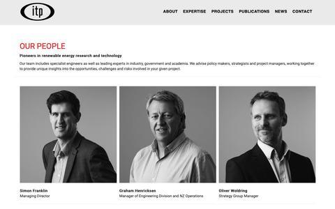 Screenshot of Team Page itpau.com.au - Our People – ITPower Australia - captured Oct. 11, 2018