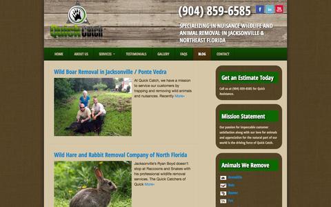 Screenshot of Blog quick-catch.com - Quick Catch - captured Sept. 30, 2014