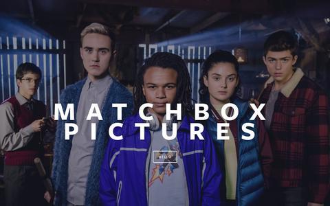 Screenshot of Home Page matchboxpictures.com - Matchbox Pictures - captured Oct. 17, 2017