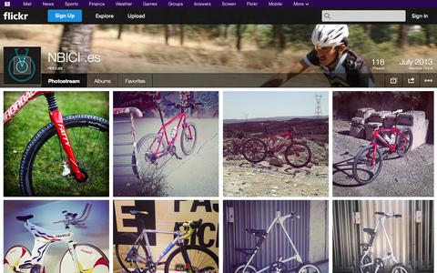 Screenshot of Flickr Page flickr.com - Flickr: nbici.es' Photostream - captured Oct. 25, 2014