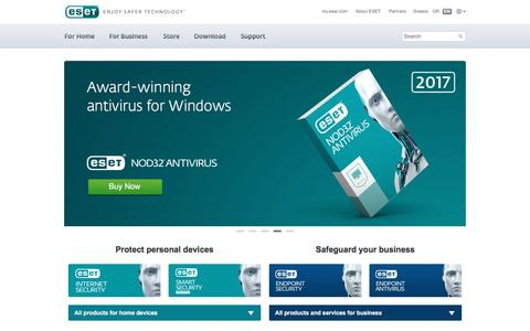 ESET NOD32 Antivirus | ESET Smart Security | Download Free Trial | ESET Greece and Cyprus
