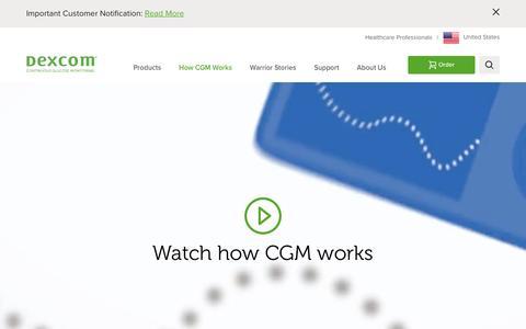 Continuous Glucose Monitoring | What is CGM? | Dexcom