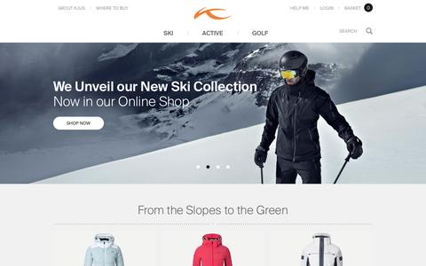 Ski, Golf and Active Apparel for Athletes