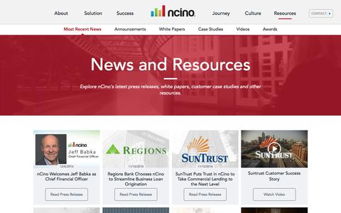 nCino Resources
