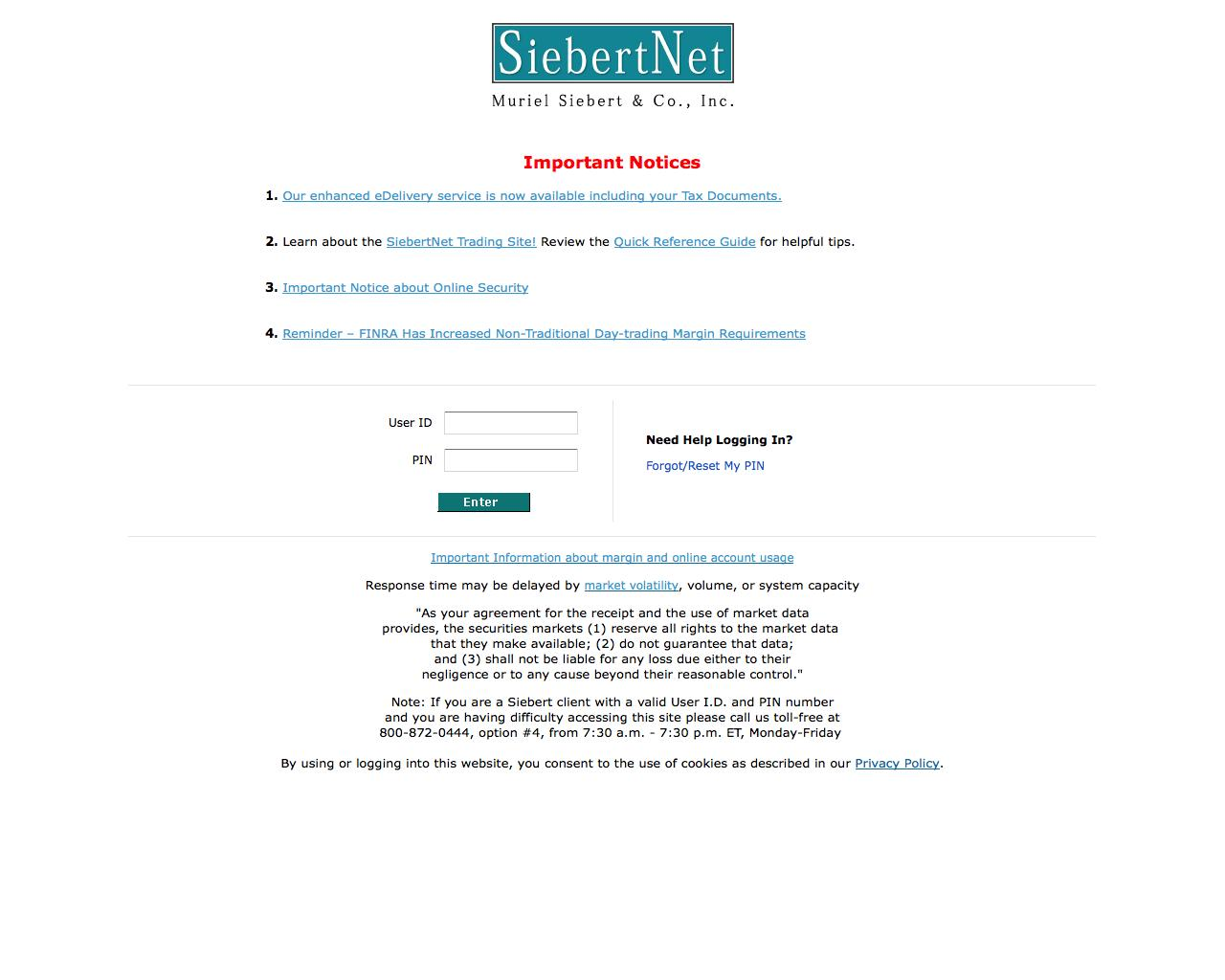 Web Design Example | A page on siebertnet com | Crayon