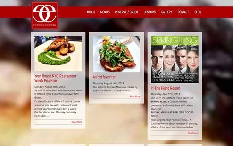 Screenshot of Blog etcetcnyc.com - BLOG «  etcetcnyc.com - captured Oct. 3, 2014
