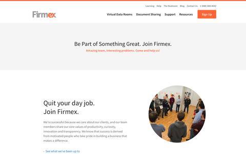 Careers - Firmex
